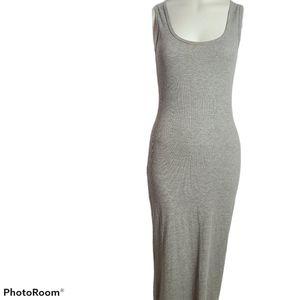 Heart & Hips sleeveless tank long fitted dress